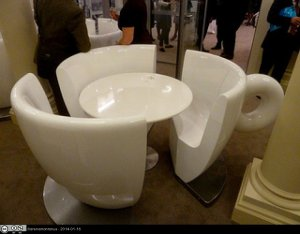 Coffee cup chair