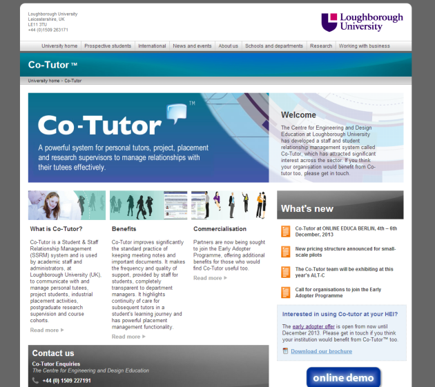 Co Tutor Screen shot